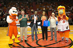United Way Heat Ceremony