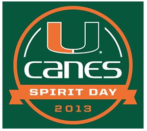 Canes Spirit Day 2013