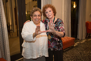 Donna E. Shalala and Maxine Schwartz