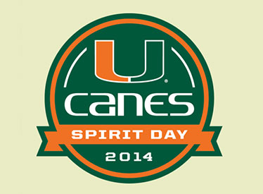 Canes Spirit Day logo