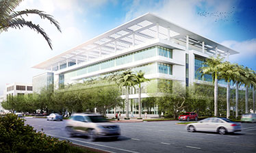 Rendering of Lennar Foundation Medical Center