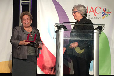 President Shalala Receives Award