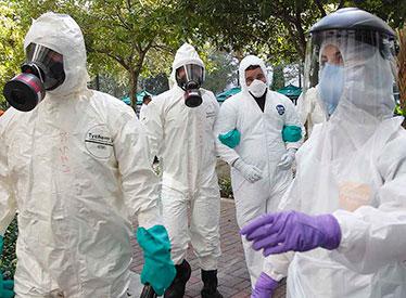 Ebola Simulation Prepares Nursing Students