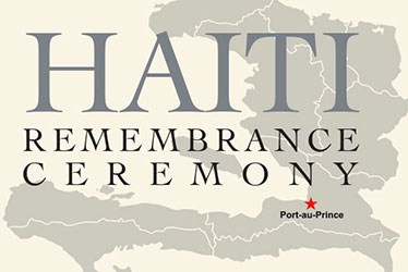 Haiti Remembrance