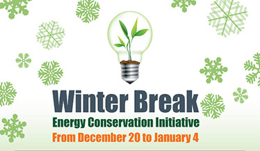 Winter Break Energy Conservation