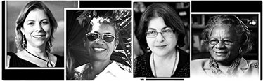 Maria Rodriguez, Denise Perry, Daniella Levine-Cava, and Thelma Perry