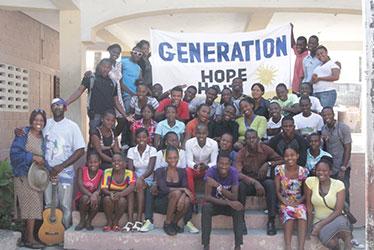 Generation Hope participants