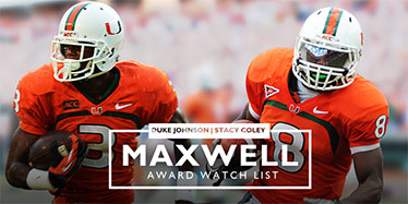 Stacy Coley and Duke Johnson