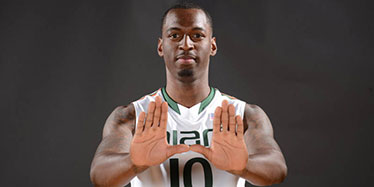 Canes Basketball Player