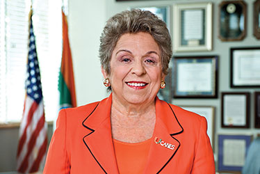 President Donna E. Shalala