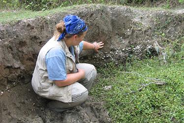 UM Rosenstiel School Geologist Kelly Jackson