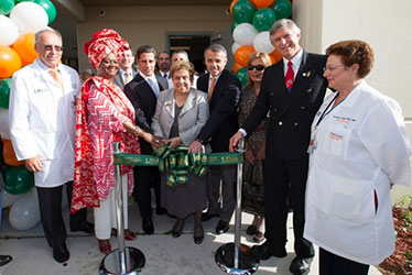 Opening of Medical Center at Miami Jackson Senior High School