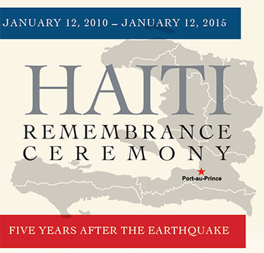 Haiti Rememberance Ceremony