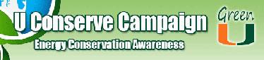 U Conserve Campaign