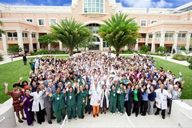 Sylvester Comprehensive Cancer Center team