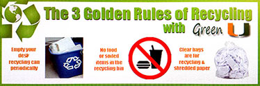 Golden Rules of Recycling