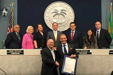 Miami Beach Honors a Champion for the Autism Community