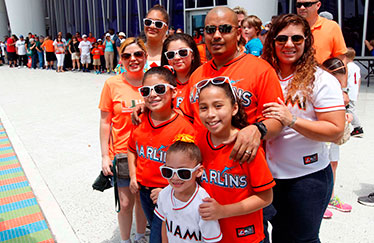 Marlins ticket distribution