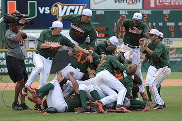 UM Baseball Celebrates
