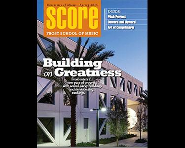 Score Magazine Cover
