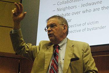 Speaker at the Holocaust Studies Summer Institute