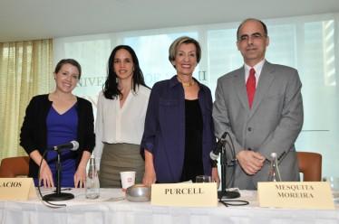 Margaret Myers, Luisa Palacios, Susan Kaufman Purcell, and Mauricio Mesquita Moreira.