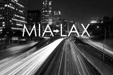 MIA to LAX