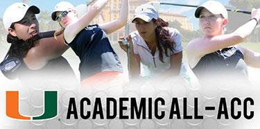 Women's Golf All-ACC Academic Team