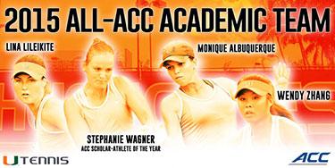 Women's Tennis All-ACC Academic Team